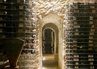 Hidden cellar for your exclusive dinner