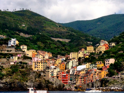 One of the little towns of Cinque Terre
