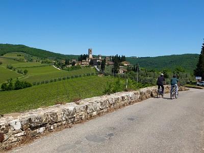 Badia a Passignano, vinhedos de Antinori.