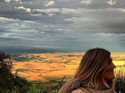 One day in Montalcino, Tuscany
