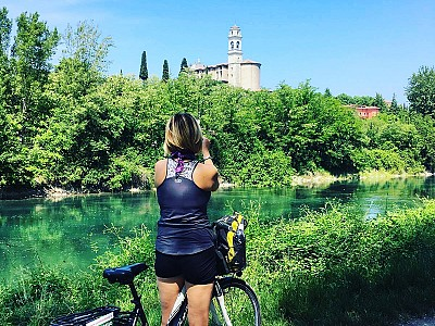 Passeio de bike até o Lago de Garda, Veneto