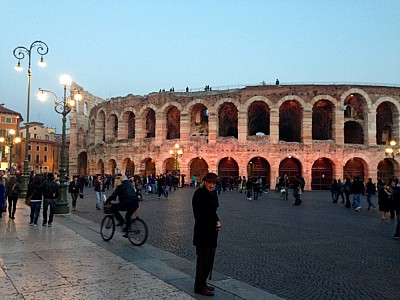 Arena, Verona. The third biggest and most well kept in Italy.