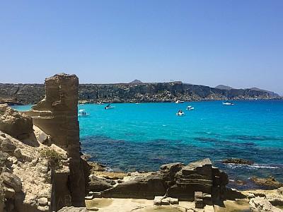 Ilha de Favignana, Sicília