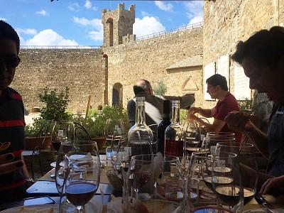 Degustação de Brunellos, Montalcino